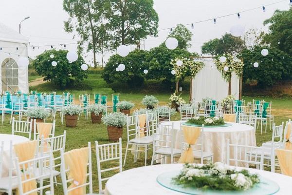 Tiệc Buffet cho đám cưới