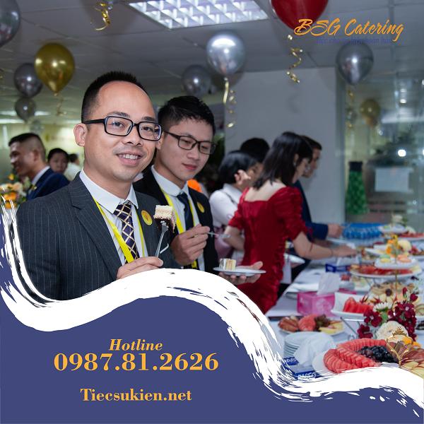 Tiệc Teabreak khai trương Bất động sản