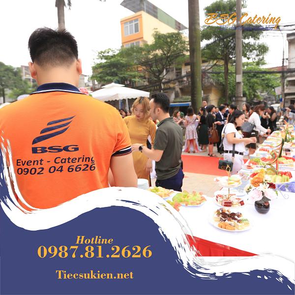 Bsg Catering - Cung cấp tiệc cho sự kiện tại Hà Nội