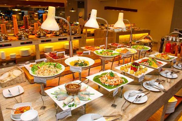các món ăn tiệc buffet