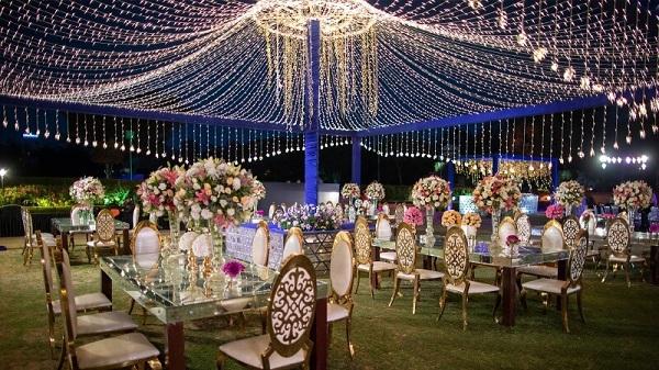 không gian địa điểm tổ chức tiệc sự kiện